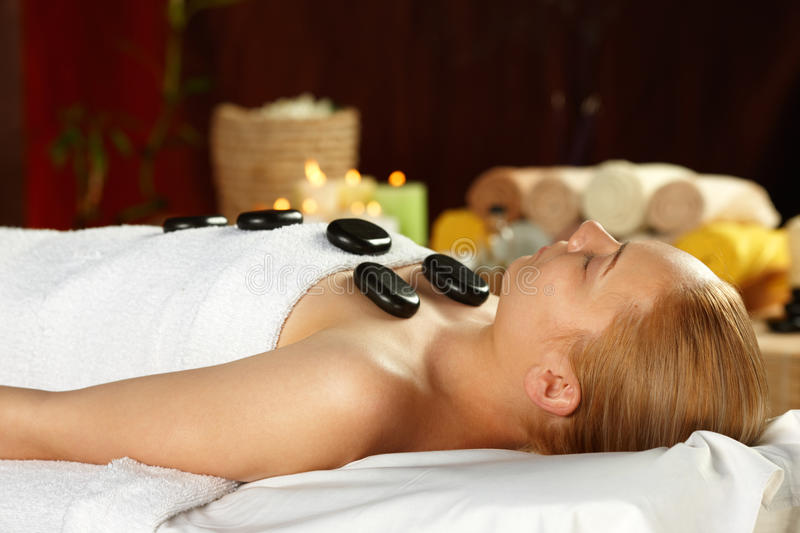 Download Young Woman On Spa Treatment Stock Image - Image: 32400687