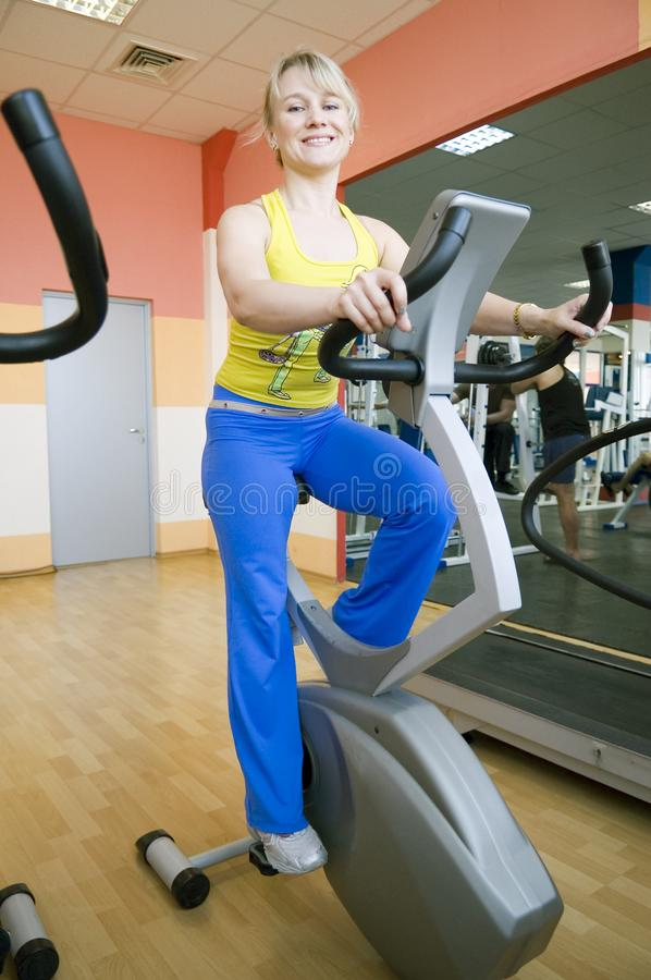 Young Woman In Sportclub Free Stock Images