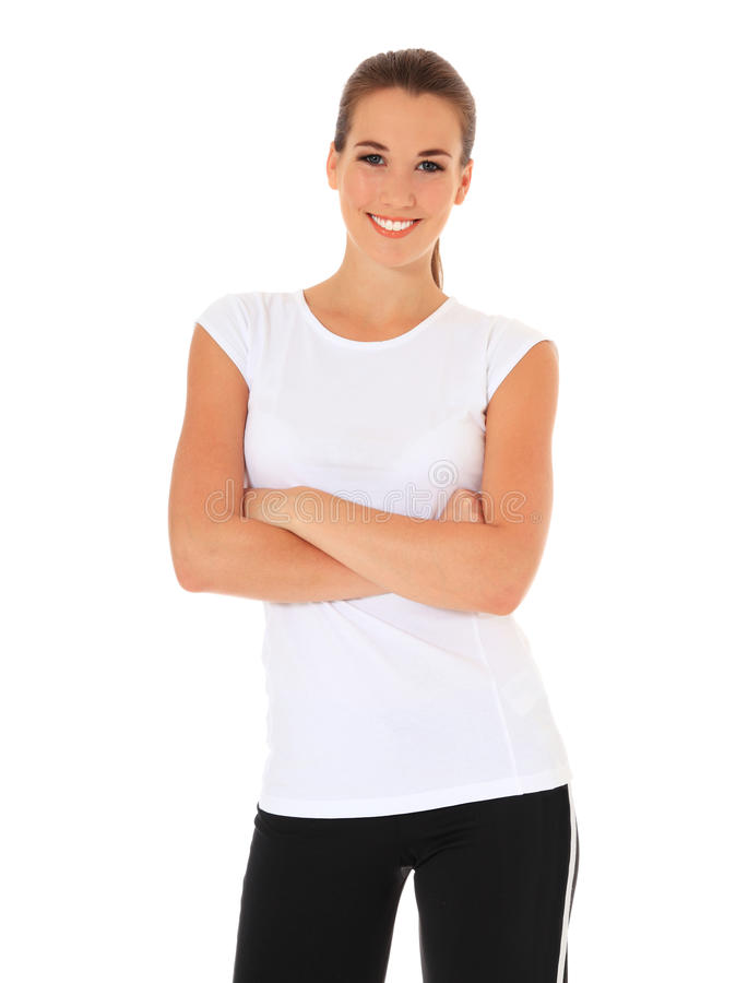Download Young Woman In Sports Wear Stock Photos - Image: 22112423