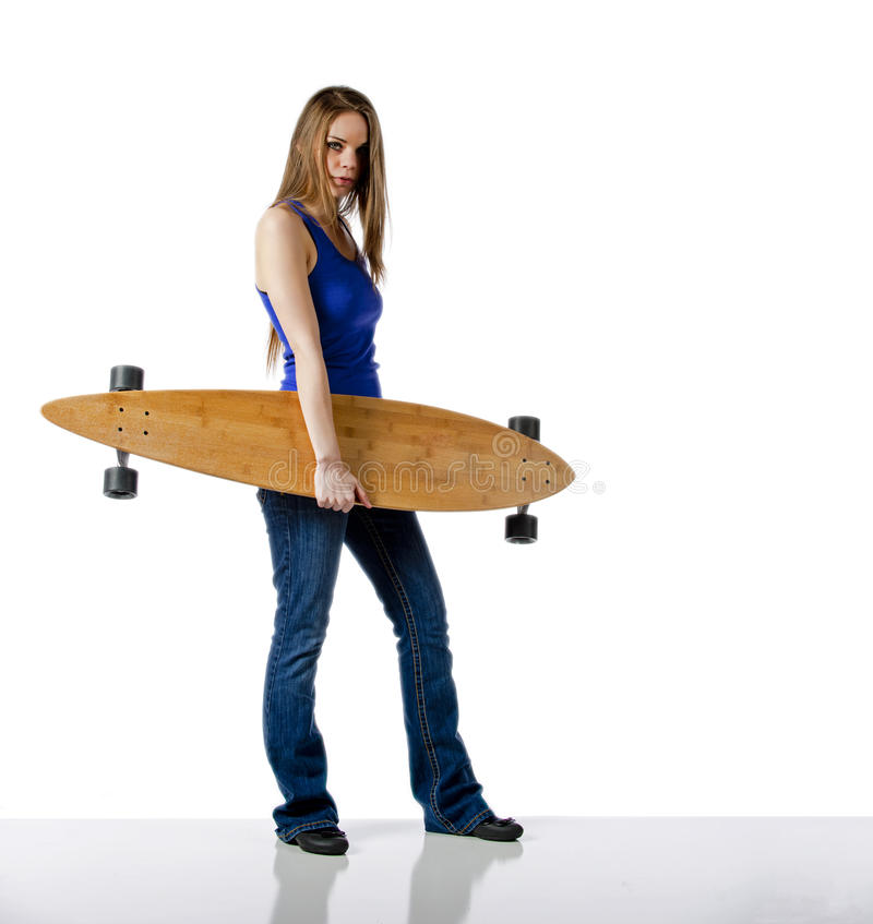 Download Skater Girl Royalty Free Stock Photography - Image: 30284857