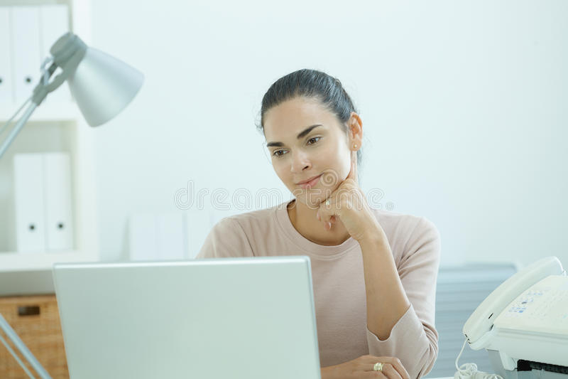 Download Young Woman Thinking Royalty Free Stock Photo - Image: 9524285
