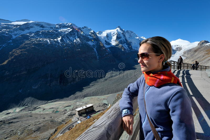 Download Young woman tourist stock image. Image of countryside - 17642521