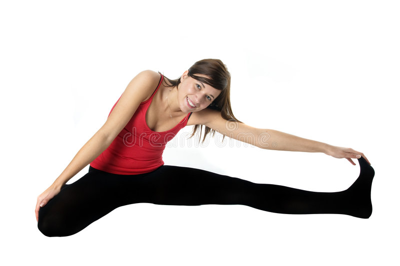 Download Young Woman Training Fitness Royalty Free Stock Image - Image: 8269116