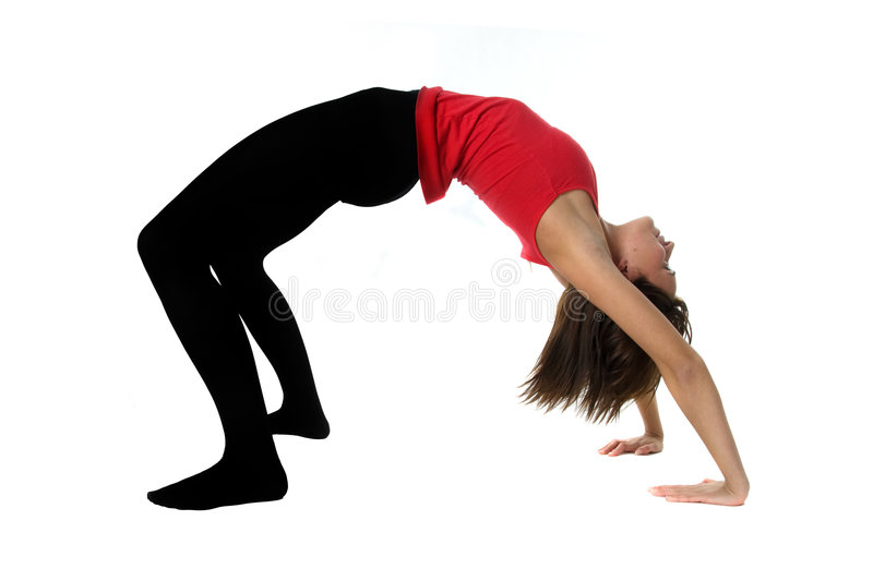Young Woman Training Fitness Royalty Free Stock Image