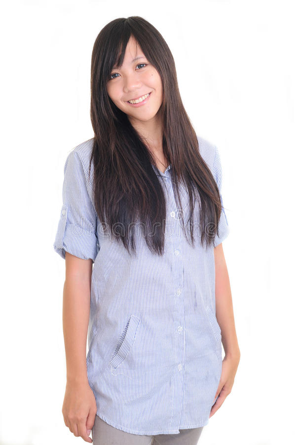Young Woman University Student Stock Images