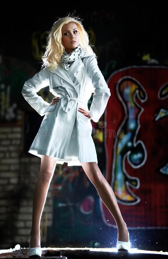 Download Young woman urban fashion stock image. Image of people - 16765187