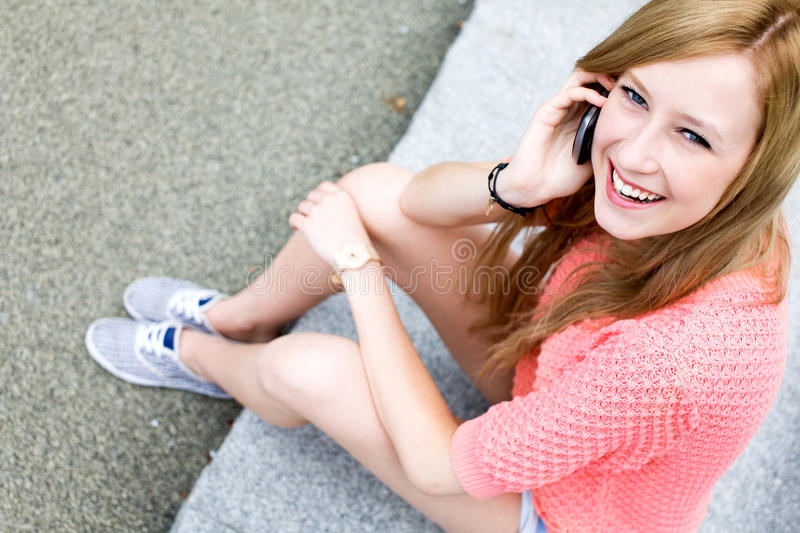 Download Young Woman Using Mobile Phone Stock Photo - Image: 20575650