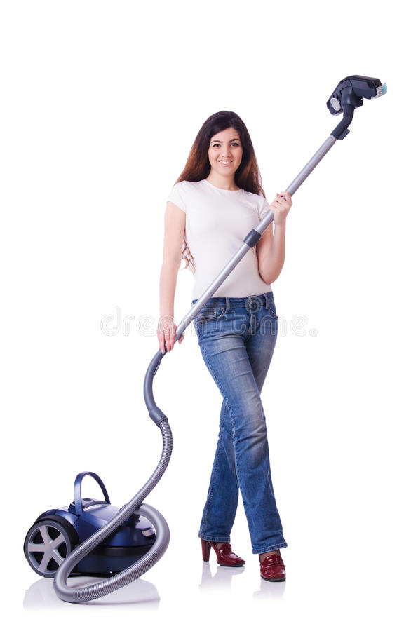 Download Young woman stock photo. Image of adult, female, housework - 32810764