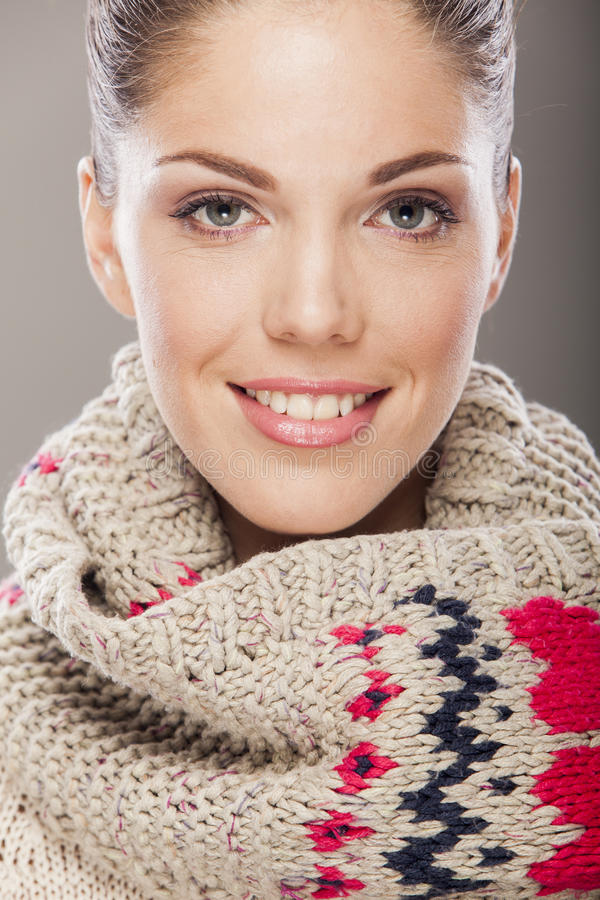 Download Young Woman With Winter Clothes Stock Photo - Image: 27912014