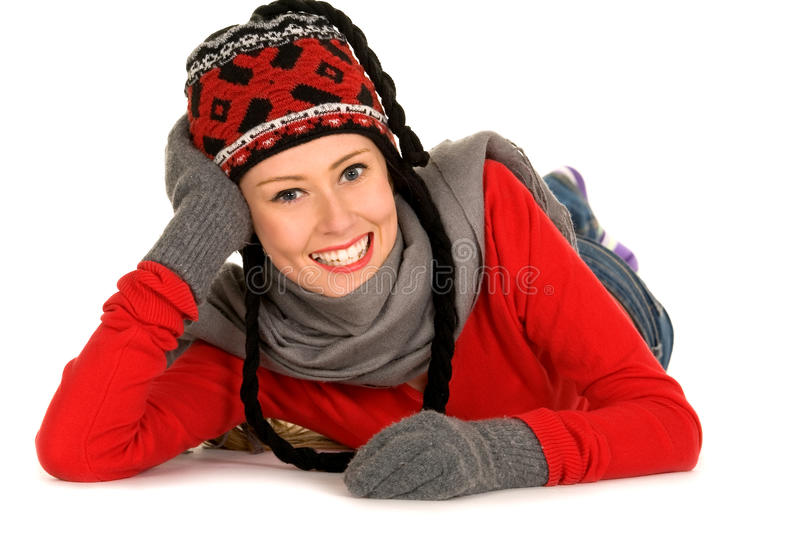 Download Young Woman In Winter Clothing Stock Photo - Image: 11557914