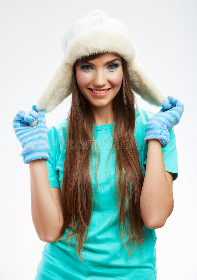 Download Young Woman Winter  Style Portrait, Stock Photo - Image: 31153892