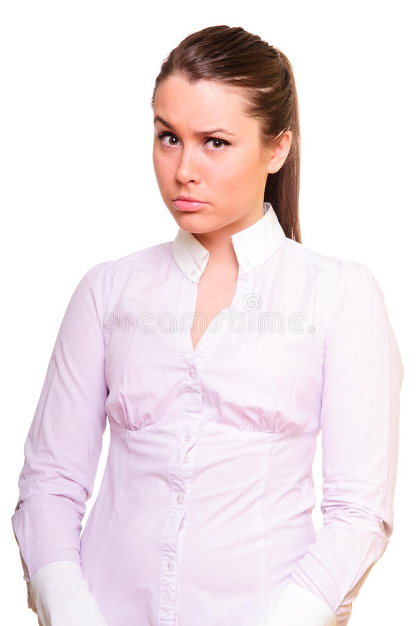 Free Young Woman With A Backward Glance Stock Photo - 24475820