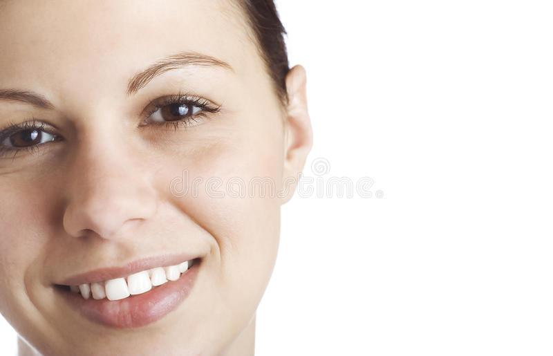 Young women's face royalty free stock images