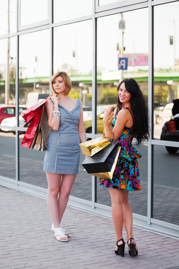 Download Young Women Shopping Stock Image - Image: 19914321