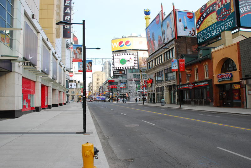Younge Street Toronto Canada