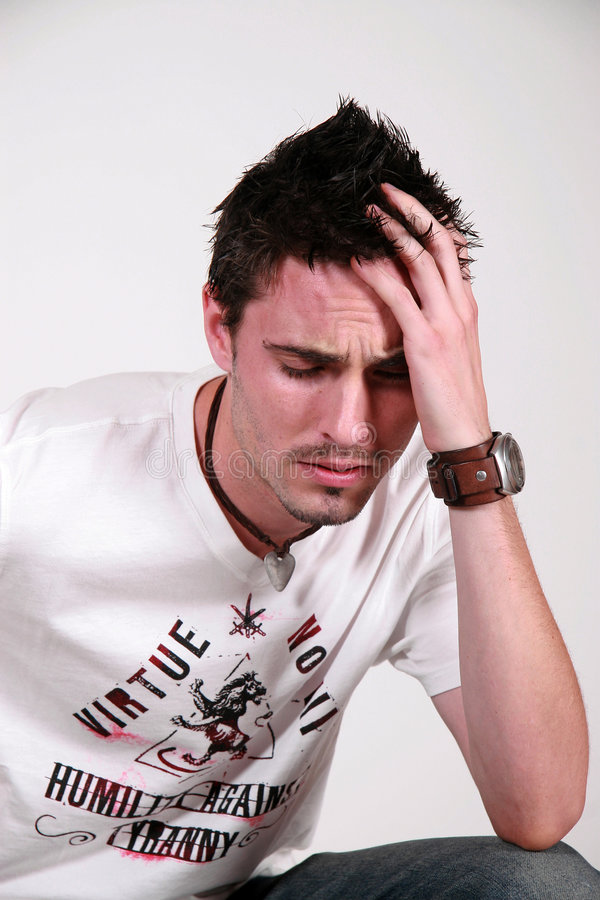 Download Younger Male, Scruffy Looking Stock Photo - Image: 2581930