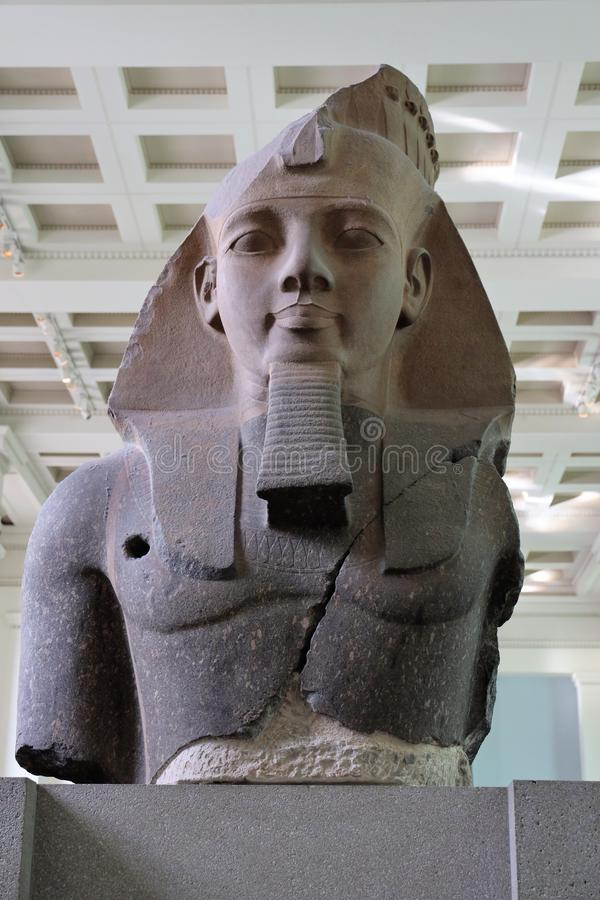 Statue of Ramesses II royalty free stock photo