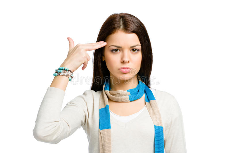 Download Youngster Hand Gun Gesturing Stock Photos - Image: 34417693