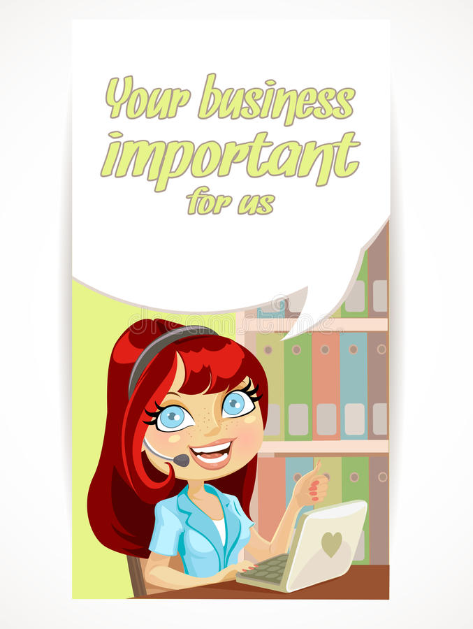 Download Your Business Is Very Important To Us Stock Vector - Image: 24669324