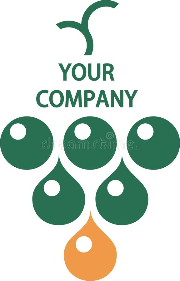 Download Your company logo stock illustration. Image of green - 12530098