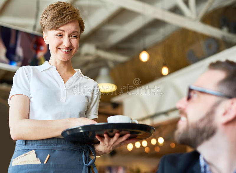 Your drink please royalty free stock photo