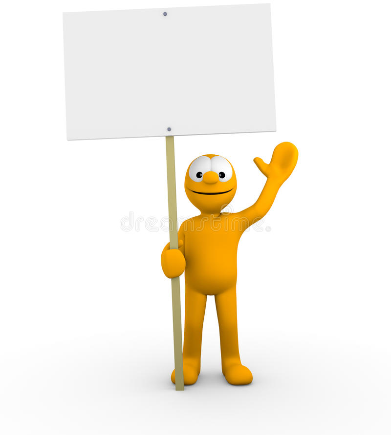 Your Empty Board Stock Image