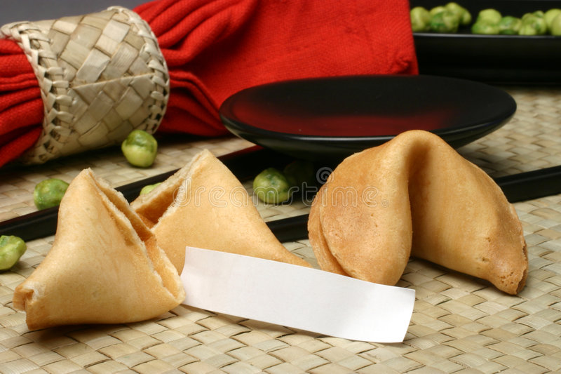 Your Fortune Here stock image