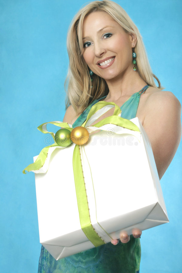 Download Your Gift stock photo. Image of women, xmas, birthday, friendship - 346190