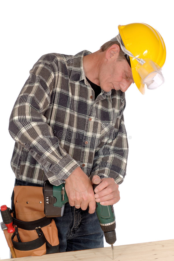 Download Your handyman stock photo. Image of strong, screwdriver - 2375660