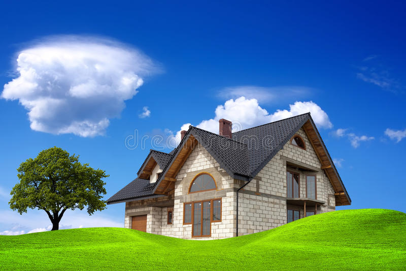 Download Your house stock photo. Image of environment, green, landscape - 15981612