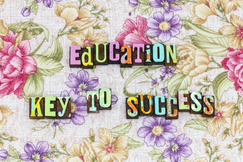 Education key to success royalty free stock image