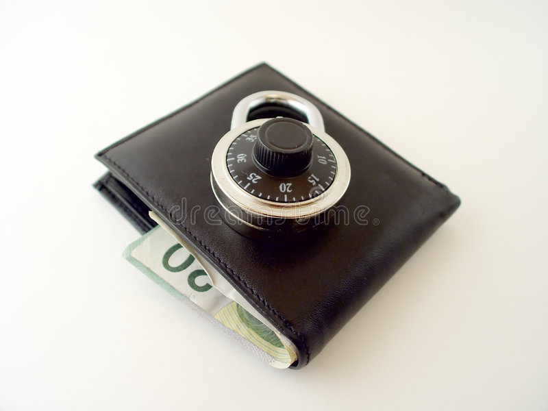 Is your Money Safe 2 stock photography