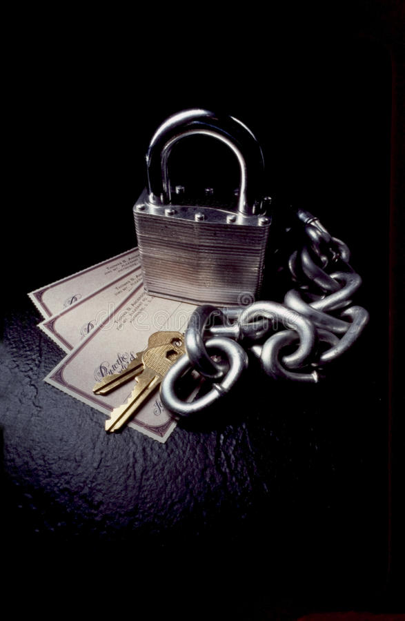 Download Is your money safe? stock image. Image of thief, cheque - 9570713