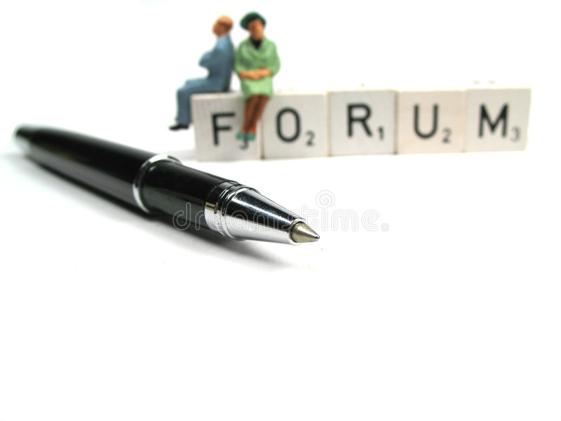 Your opinion is important stock photo