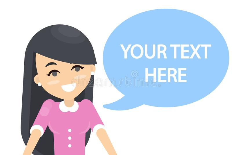 Your text here. royalty free illustration