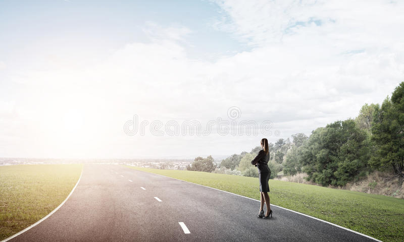 Your way to success stock photo