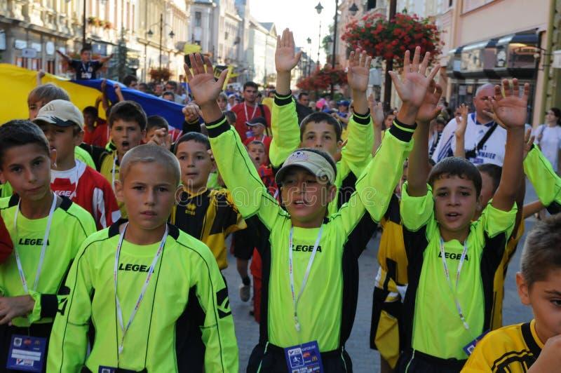 Download Youth Football Festival Kaposvar Editorial Image - Image: 13017195