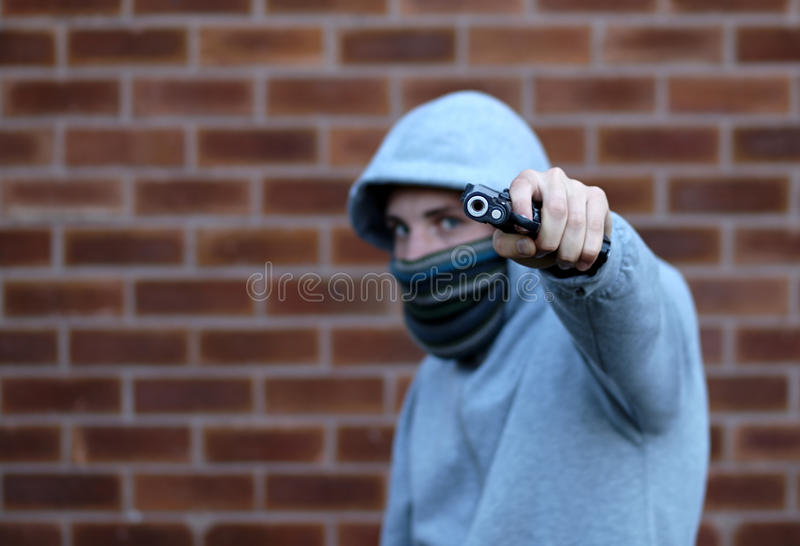 Download Youth Gun Crime stock photo. Image of young, security - 20450020