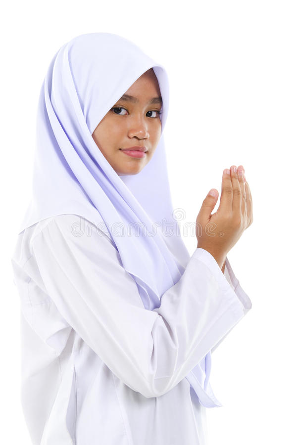 Download Youth Muslim stock image. Image of muslimah, hands, child - 25833359