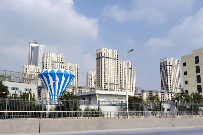 The Youth Olympic Village royalty free stock images