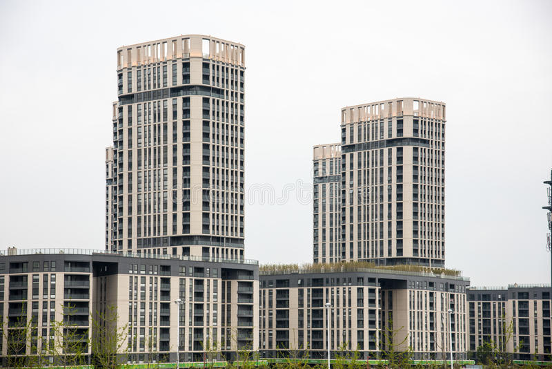 The Youth Olympic Village royalty free stock photos