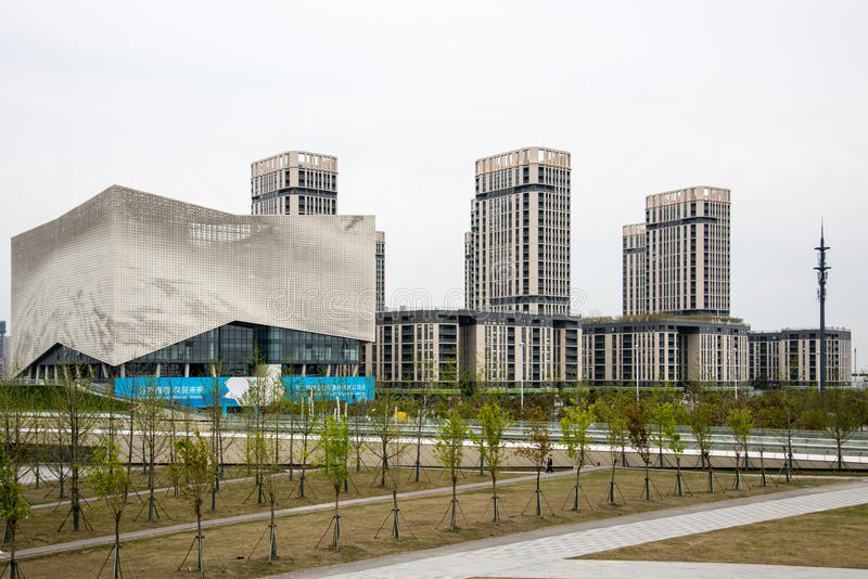 The Youth Olympic Village stock photo