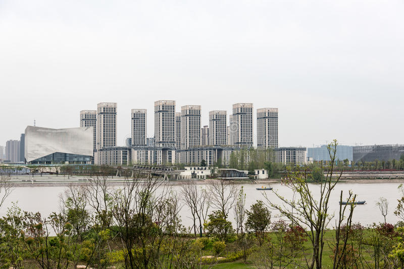 The Youth Olympic Village royalty free stock image