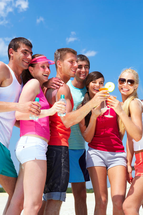Download Youth party stock photo. Image of funny, cocktail, female - 22576946