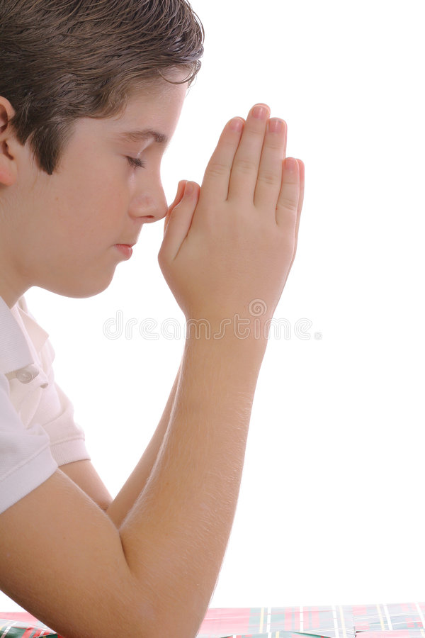 Youth Praying Stock Photography