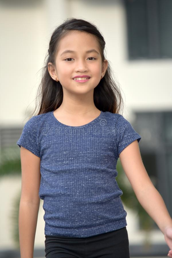 Free Youthful Asian Female Portrait Stock Images - 130045074