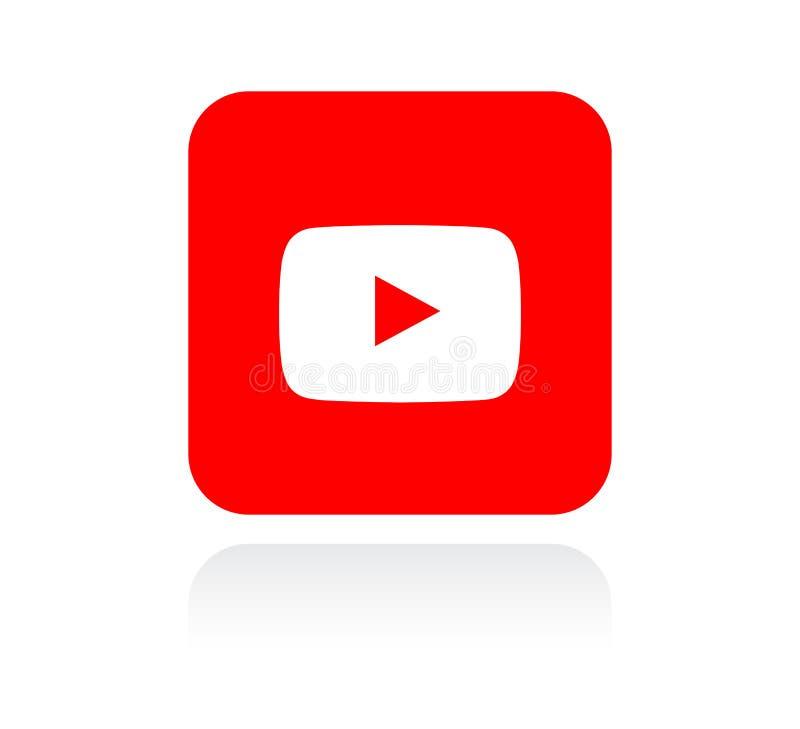Youtube? 向量例证