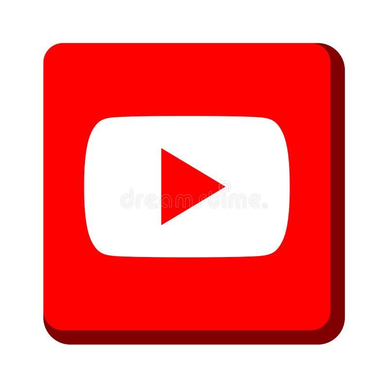 Youtube icon stock illustration