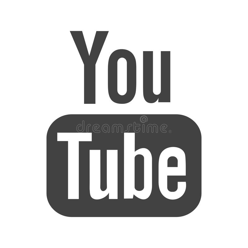 Youtube II vektor illustrationer