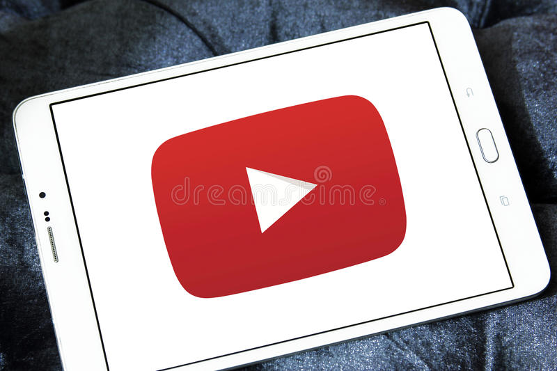 YouTube-Logo lizenzfreies stockbild